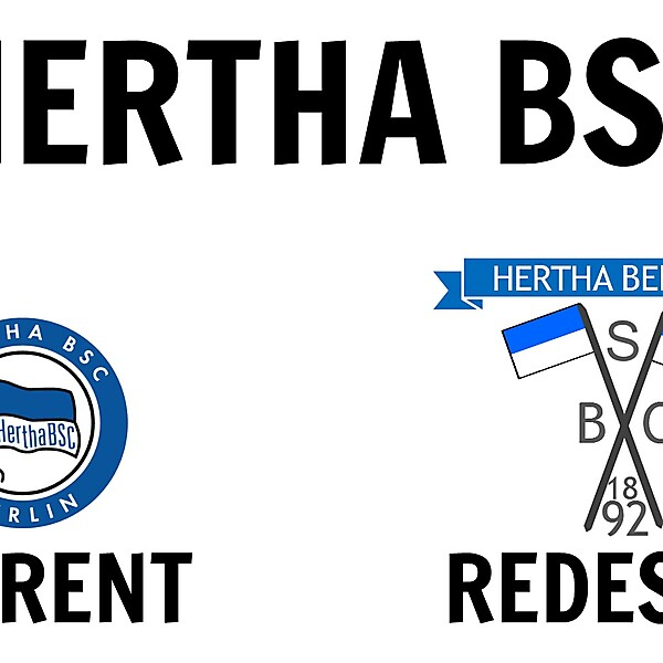 Hertha BSC New Crest Idea