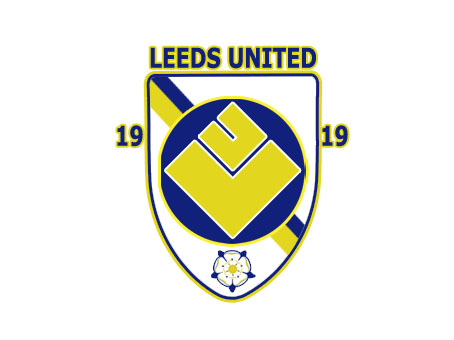 Arsenal and Leeds Crest