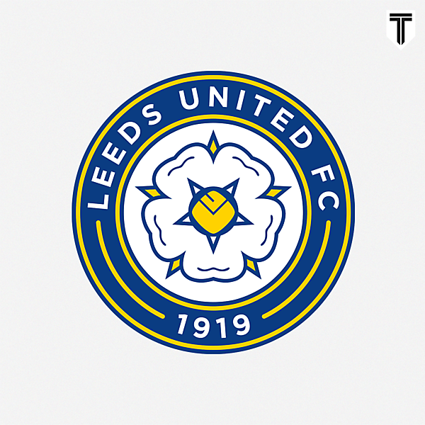 Leeds United Crest Redesign