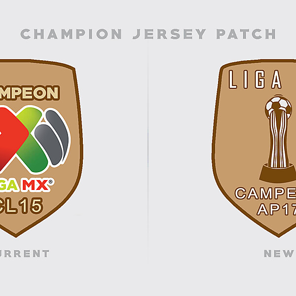 Liga MX New Champion Patch