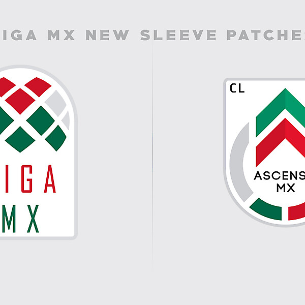 Liga MX Sleeve Patches