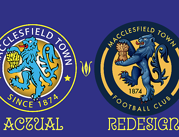 Macclesfield Town Crest Redesign