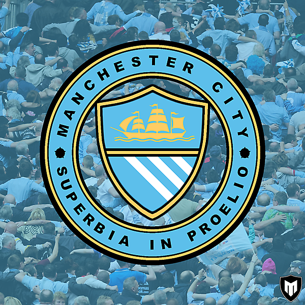 Manchester City Rebranding Concept