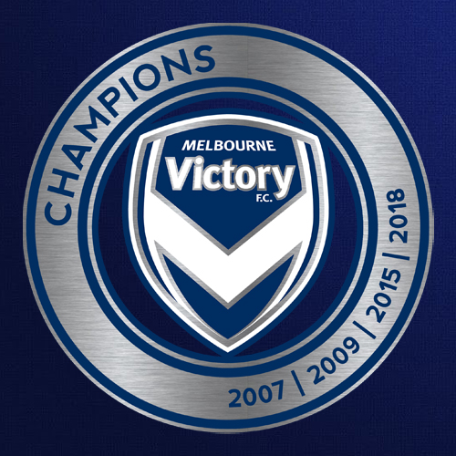 Melbourne Victory Champions Logo