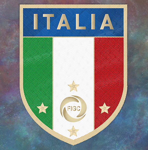NAZIONALE ITALIANA RESTYLING CREST