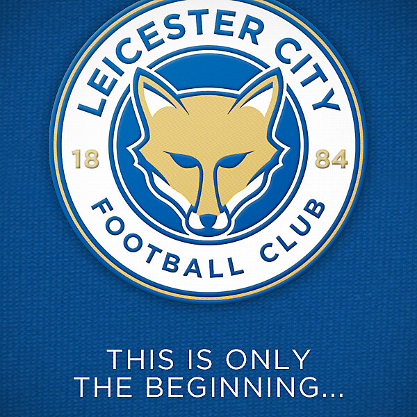 New Leicester City Crest
