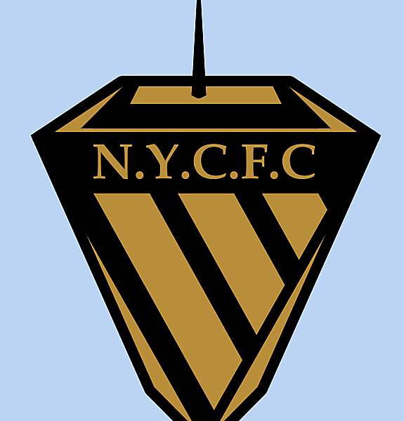 NYCFC Black & Gold Crest