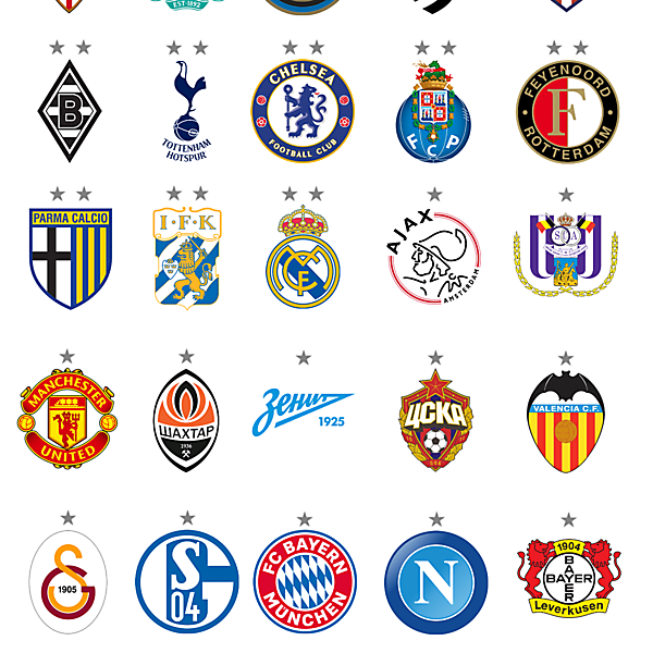 UEFA Europa League Winners