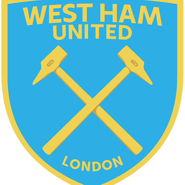 West Ham United Boys of 86 modern crest