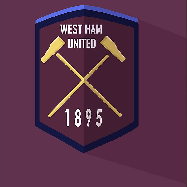 West Ham United redesign logo