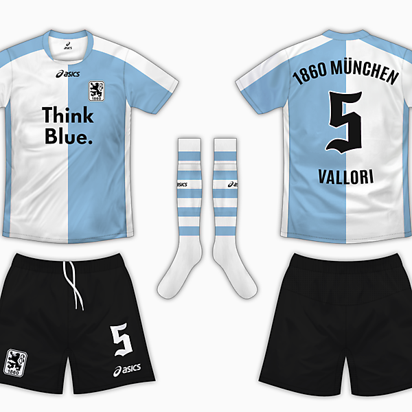 1860 Munich Home Kit - Asics