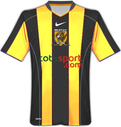 Hull city home 2010/2011