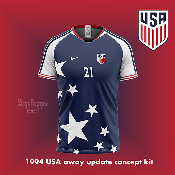 1994 USA away  update, concept kit