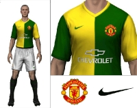2014/15 Manchester United Away Kit