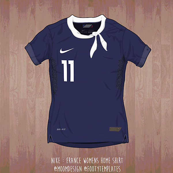2015 Nike France Shirt ( Womens WC)