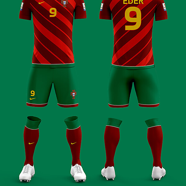 2017 Confed Cup Portugal Home Kit