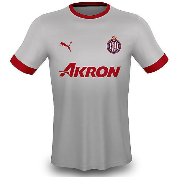 2018 Chivas Away Kit w/ New Logo