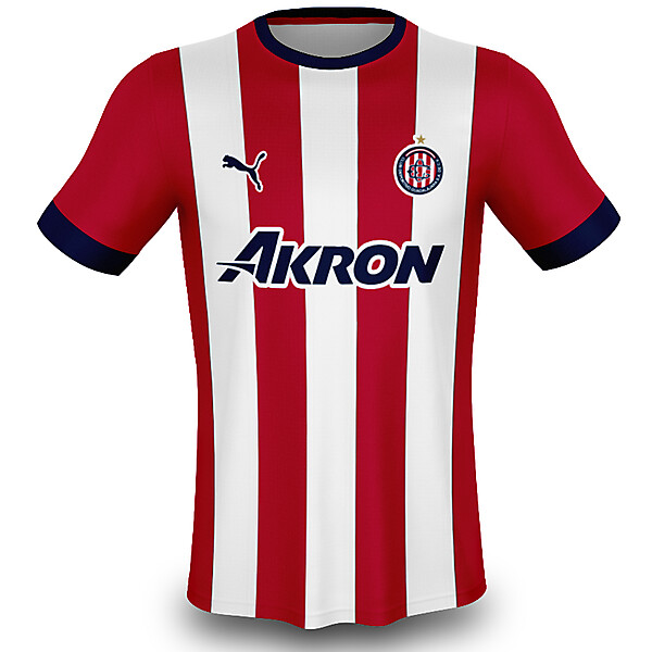 2018 Chivas Home Kit w/ New Logo