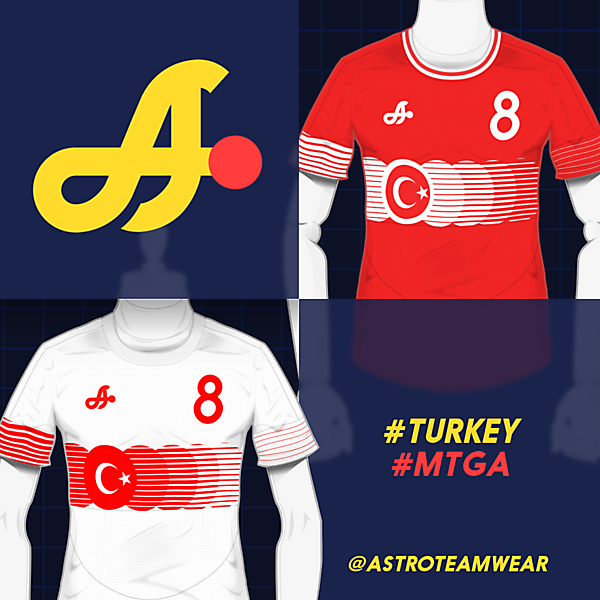 2018 Turkey Shirts by Astro