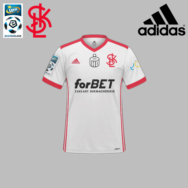 2019/20 ŁKS Łódź Fantasy Home Kit
