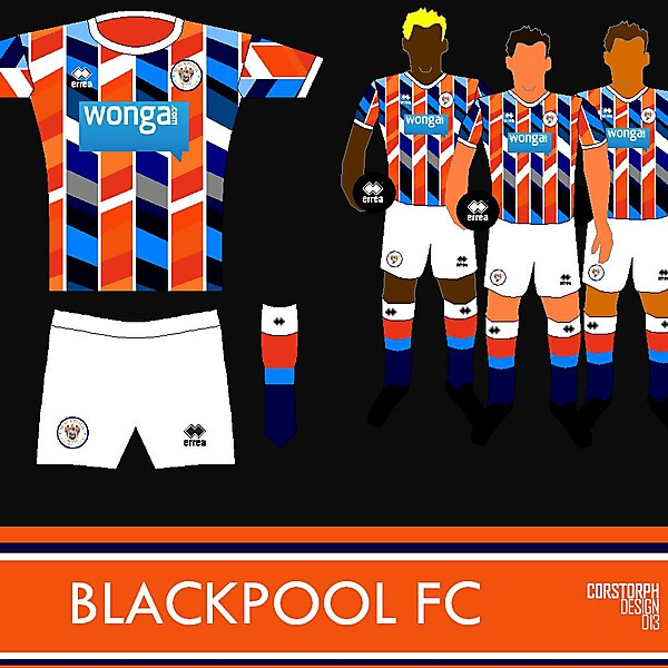Blackpool 3rd Kit - Assoluta Mentale