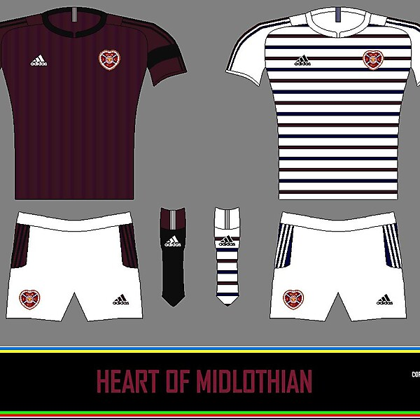 Hearts Home and Away 2014