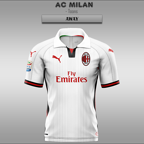 AC Milan -- Home/Away/Third