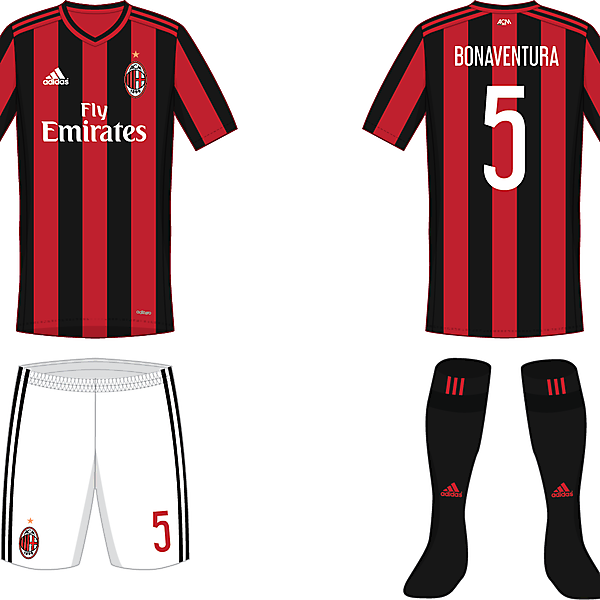 AC Milan - Home kit