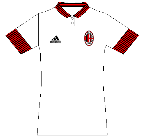 AC Milan away kit concept