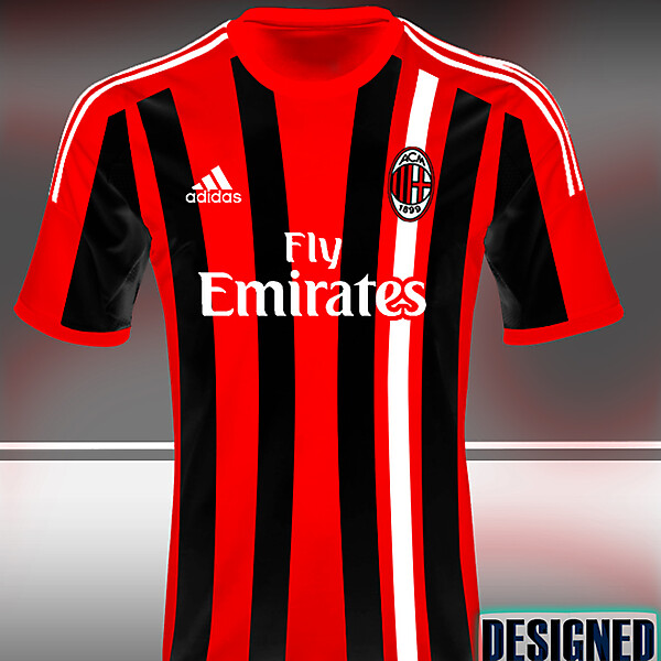 AC Milan kit design