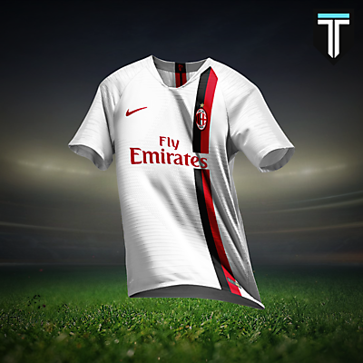 AC Milan Nike Away Kit Concept