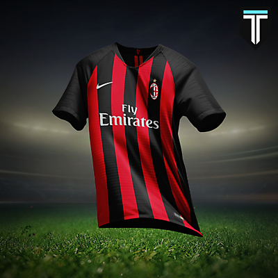 AC Milan Nike Home Kit Concept