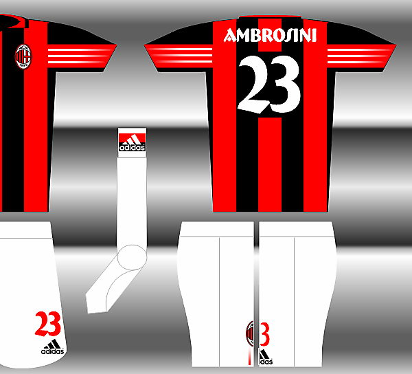 Adidas Fantasy Kit - AC Milan Home
