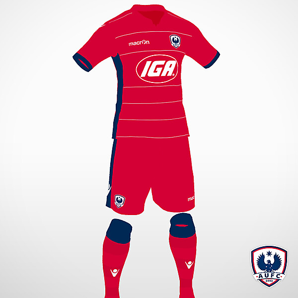 Adelaide United home kit