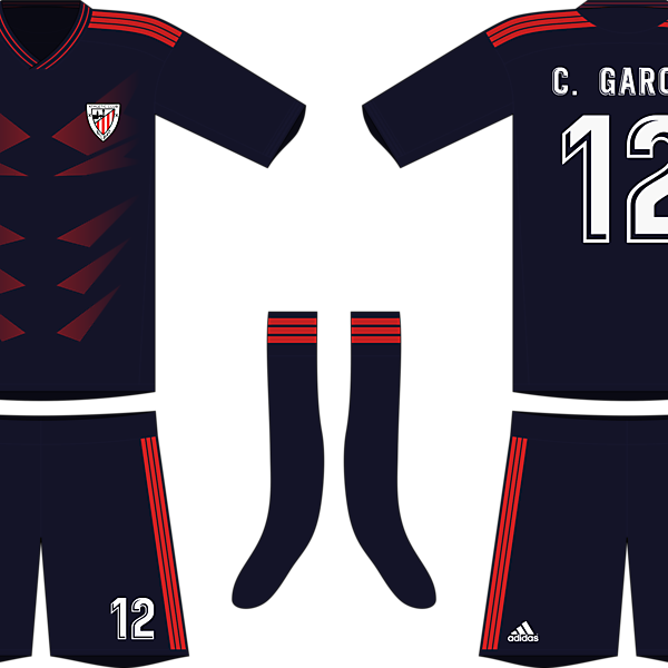 Adidas Athletic Bilbao 2019-20 Away Kit