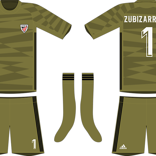 Adidas Athletic Bilbao 2019-20 Goalkeeper Kit #1