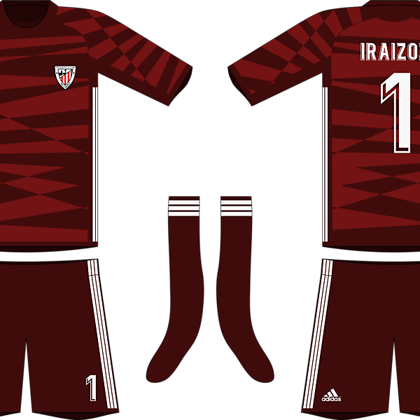 Adidas Athletic Bilbao 2019-20 Goalkeeper Kit #2