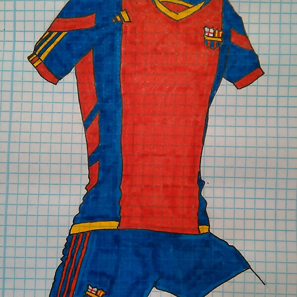 ADIDAS FC BARCELONA HOME KIT