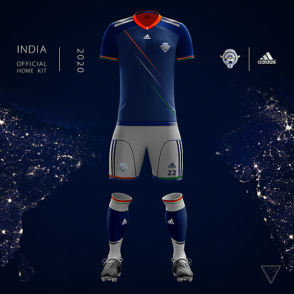Adidas India Official Kit 2020