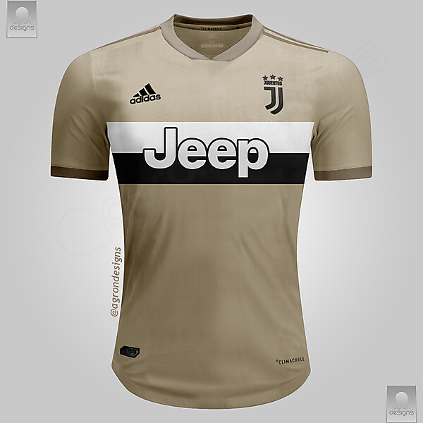 ADIDAS JUVENTUS 2018-19 AWAY KIT PREDICTION