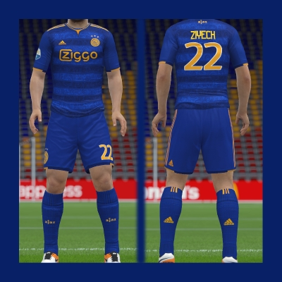 Ajax Away Kit 2019 Fantasy