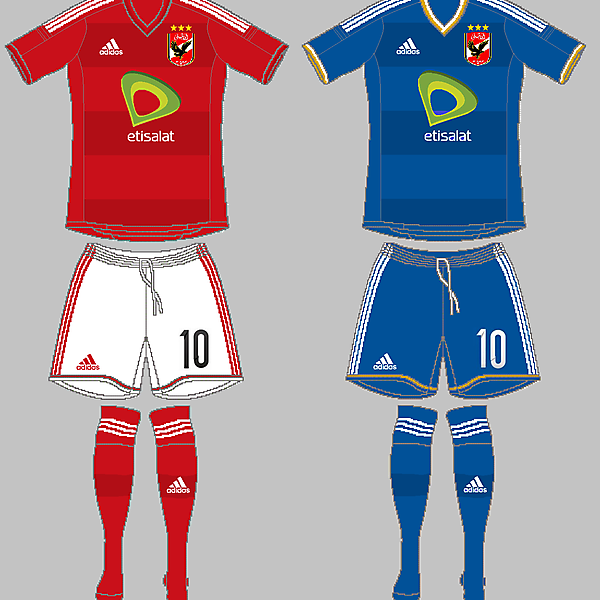 Al-Ahly Home & Away
