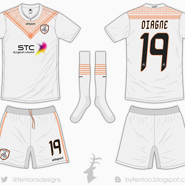 Al Shabab Riyadh Home Kit - Uhlsport [Azure League Matchday 3]