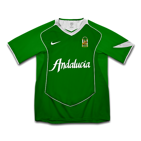 Andalusian fantasy away kit 2002