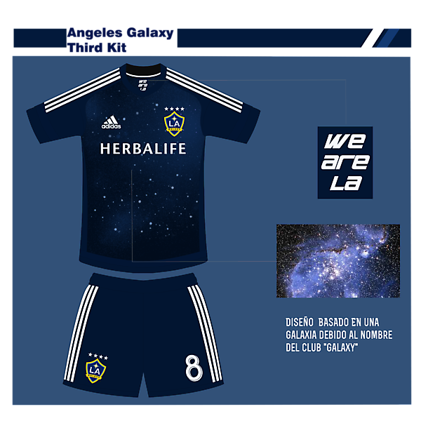 Angeles Galaxy Third