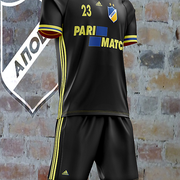 Apoel Black Change concept kit