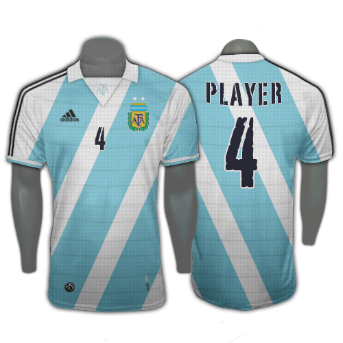 Argentina Home WC 2010 Fantasy