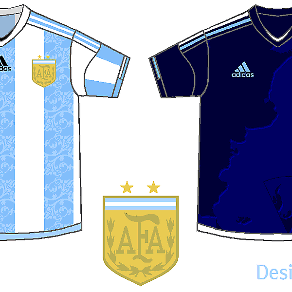Argentina - Home & Away Kits