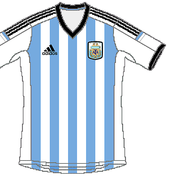 Argentina Adidas World Cup Home Kit