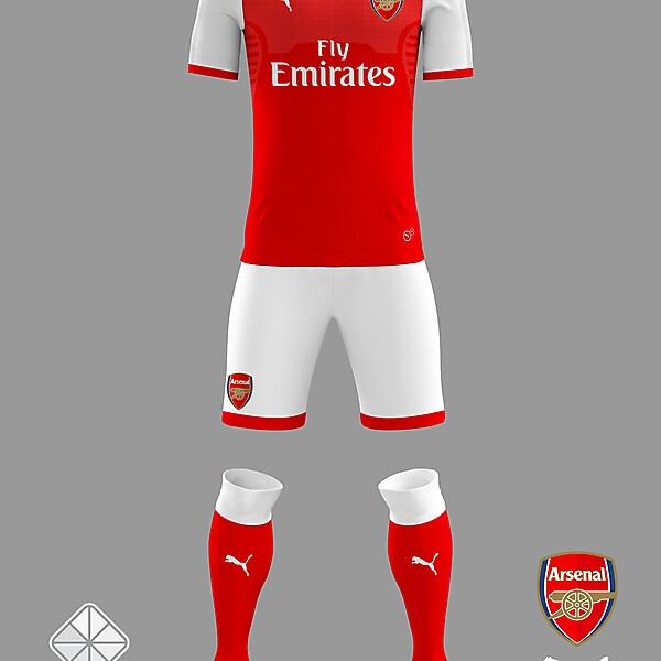 Arsenal 2018/2019 Home Jersey